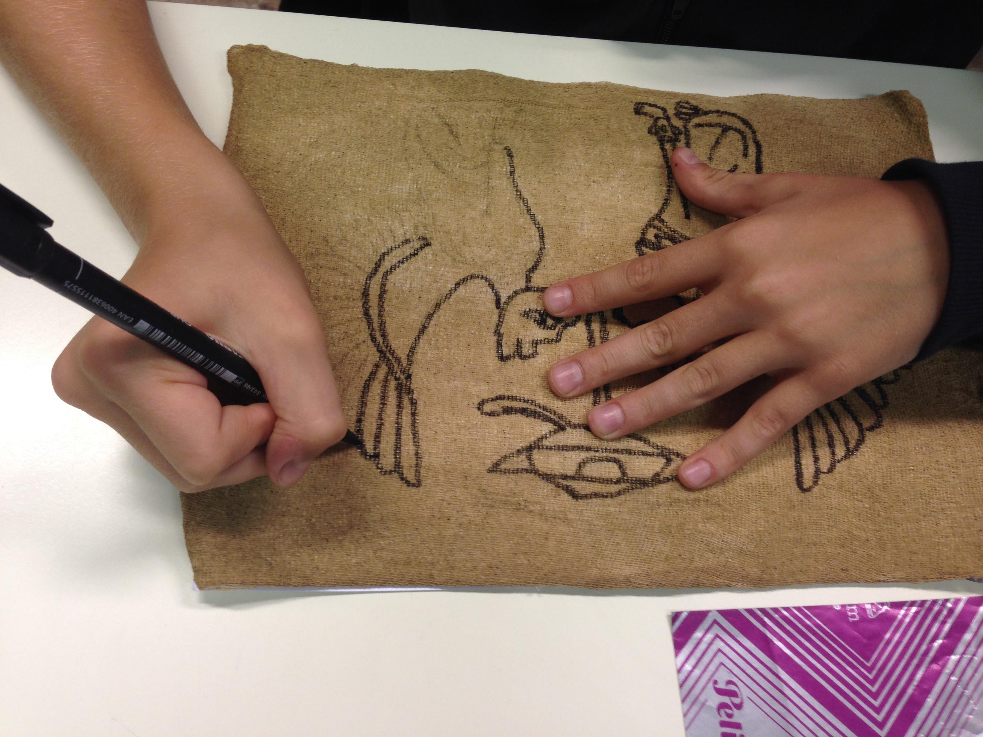 Riproduzione su papiro
